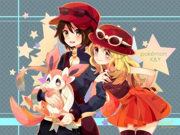 Anime picture pokemon moemon pokemon xy nintendo sylveon